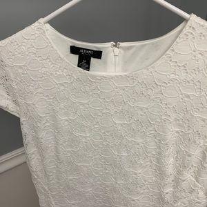 Alfani Women's White Dress Size 6 Petite